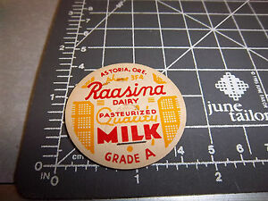 Milk-Bottle-Cap-from-Raasina-Dairy-Astoria-Oregon-Grade-A-cool-vintage-cap
