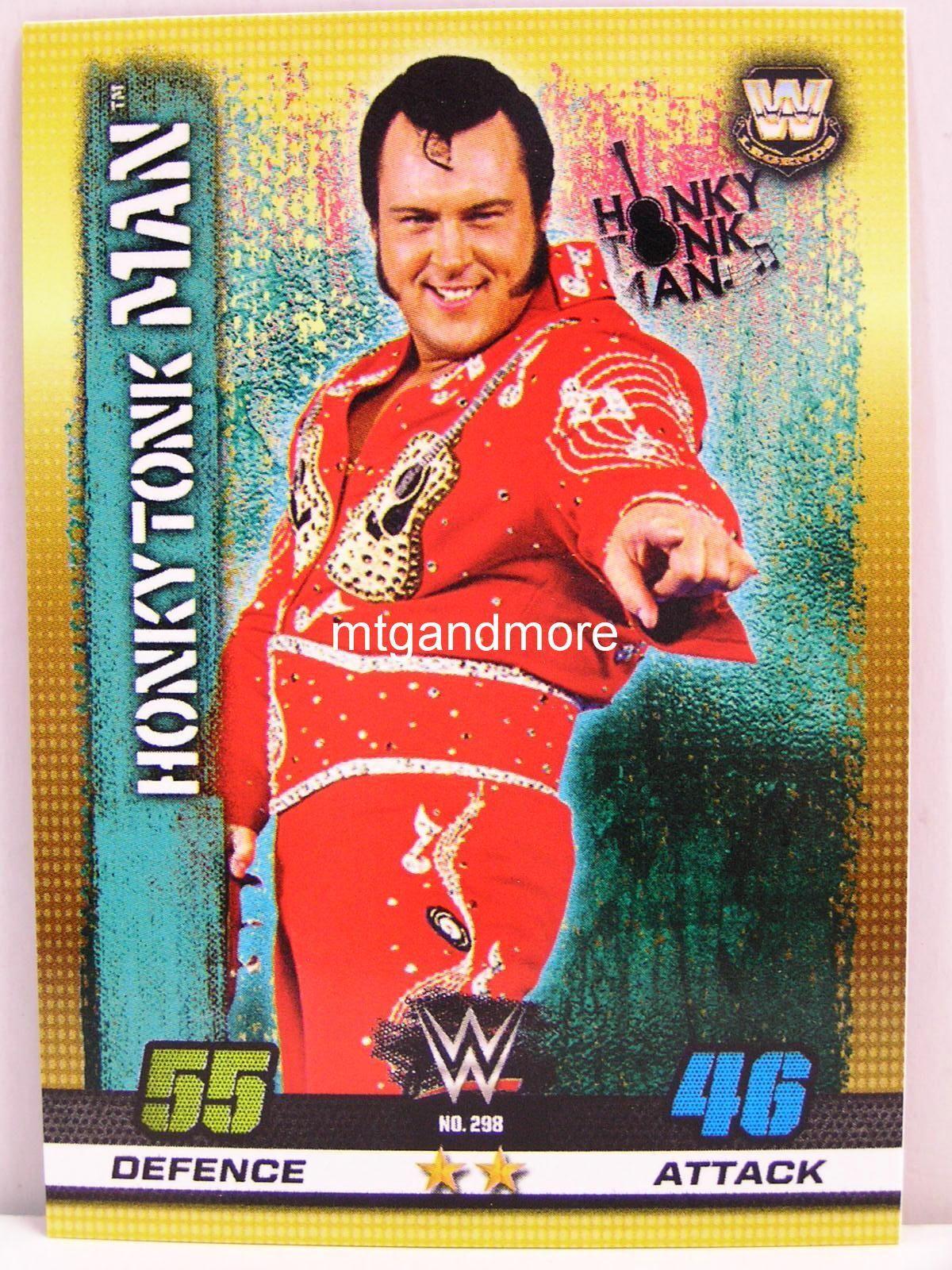 #298 Honkytonk Man 10th Edition Slam Attax