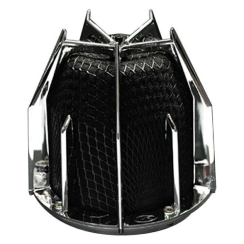 "Weapon-R 843-111-101 Dragon Round Tapered Black Air Filter 4/"" F"