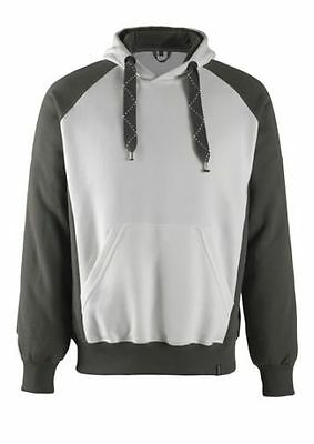 Mascot Kapuzen-Sweatshirt Regensburg, Pullover, Größe M, weiß/anthrazit