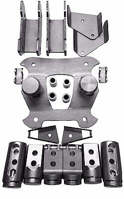 "Adapter kit 1 3//4/"" 17+ XP1K 4 Seat Cage Connectors Polaris RZR Bungs XP1000"