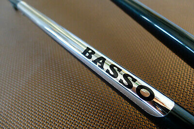 BASSO bicycle Vintage retro Chrome Vinyl Chainstay Protector frame