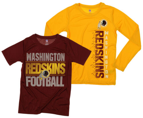 NFL Youth Washington Redskins Fan Two Piece Performance T-Shirt Combo Set