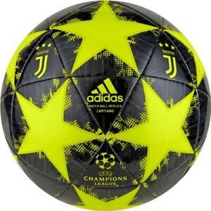 Balle Ligue des Champions Football Original Adidas 2018 2019 Juventus Juve Jaune C4oumM7b-07153303-776615491
