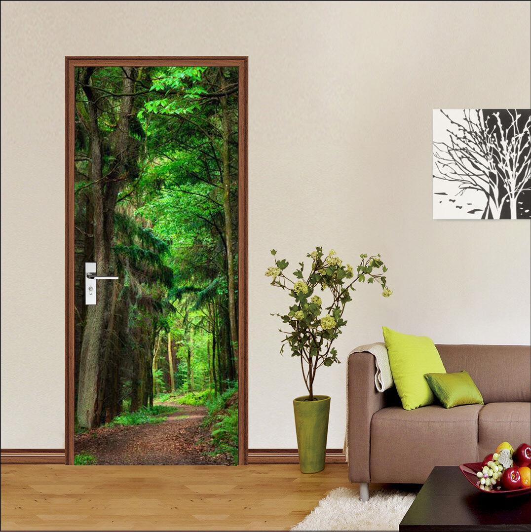3D Wald 7 Tür Wandmalerei Wandmalerei Wandmalerei Wandaufkleber Aufkleber AJ WALLPAPER DE Kyra | Modernes Design  | Die Qualität Und Die Verbraucher Zunächst  | Diversified In Packaging  ad503d