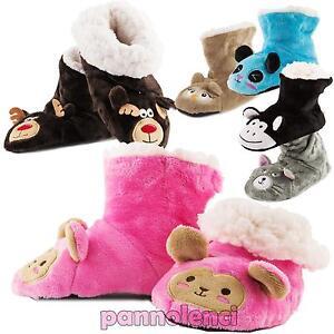 Pantofole-ciabatte-bimbo-bimba-bambini-pelliccia-antiscivolo-babbucce-TB5505
