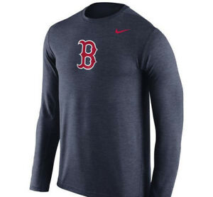 red sox long sleeve dri fit