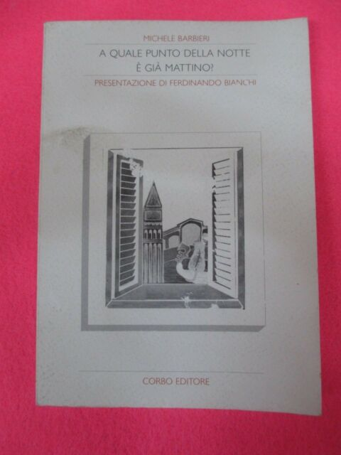 book LIBRO A QUALE PUNTO DELLA NOTTE E' GIA' MATTINO di MICHELE BARBIERI (L12)
