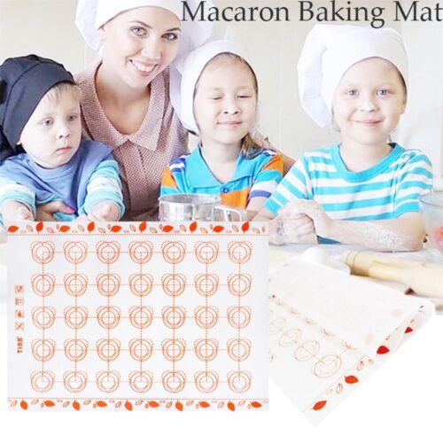 Kitchen Silicone Cake Tools Pastry Sheet Rolling Dough Pad Macaron Baking Mat