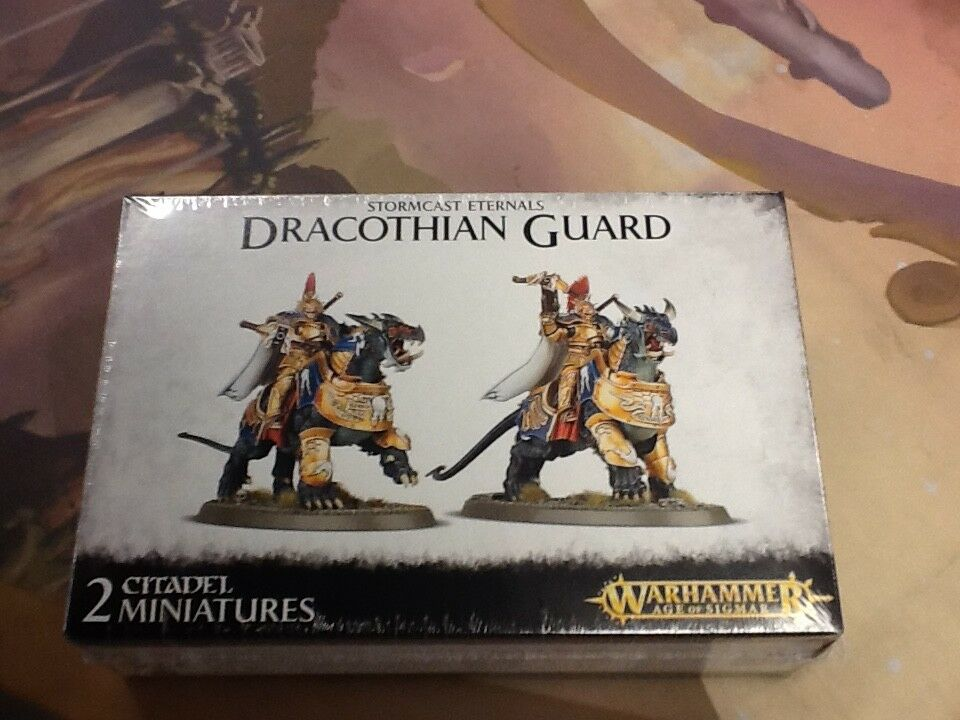 AOS Warhammer Stormcast Eternals Dracothian Guard Sealed