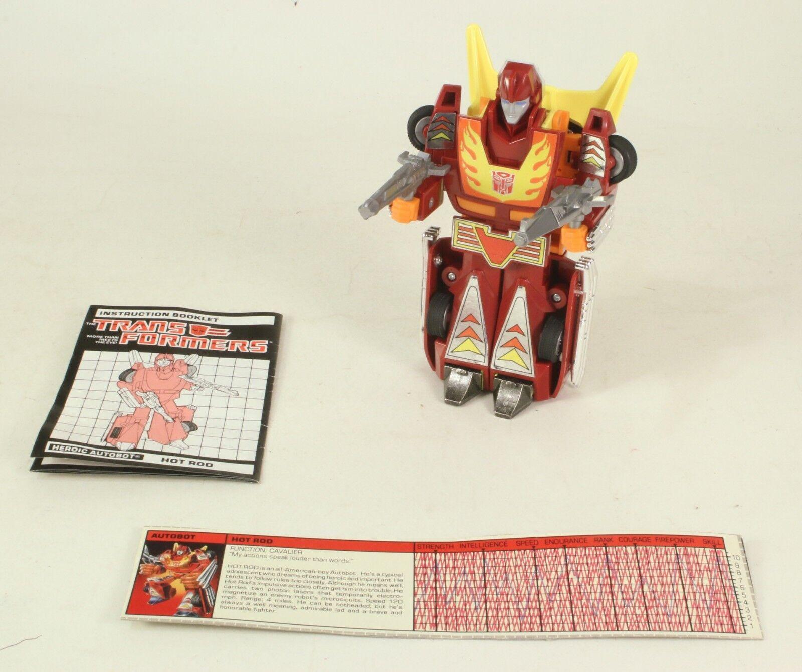 Transformers G1 Generation 1 Hot Rod Rod Rod  Hasbro e72d7a