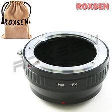Roxsen Nikon F AI mount lens To Fujifilm X-Pro1 FX Adapter camera Fuji X-T1 E2