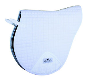Professionals-Choice-VenTech-XC-English-Saddle-Pad-White-EP500