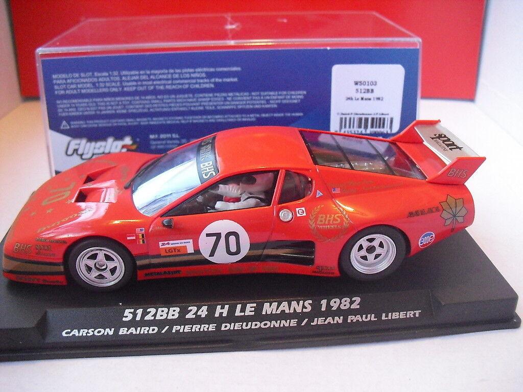 Flyslot W50103 Ferrari 512 BB 24h Le Mans 1982 1 32 NEW
