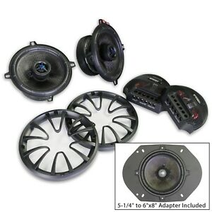 """Energy ENC525CV2 5-1/4"""" or 6""""x8"""" 2-way Coaxial/Component Speakers System (1Pair)"""