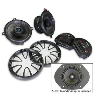 Energy-ENC525CV2-5-1-4-034-or-6-034-x8-034-2-way-Coaxial-Component-Speakers-System-1Pair