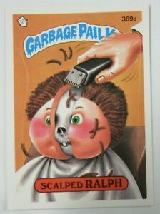 Vintage 1987 Topps Garbage Pail Kids Trading Card 369a Scalped Ralph Ebay