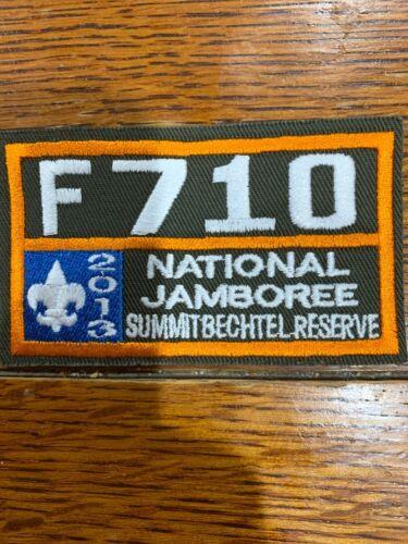 Mint 2013 National Jamboree Troop number F710 Utah