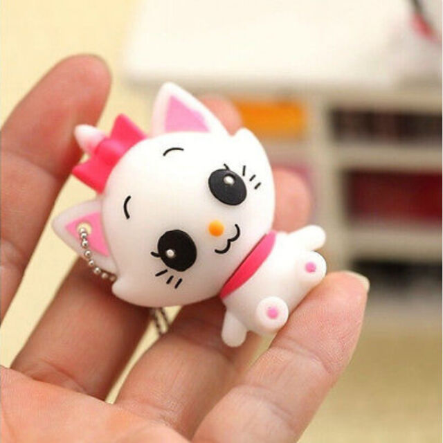 Fashion Hot NEW Cool Cartoon Cat model 8GB USB 2.0 Memory Stick Flash pen Drive