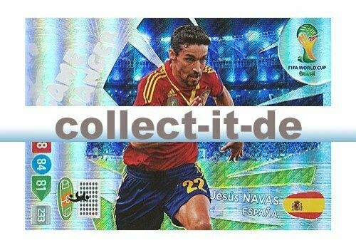 Game Changer Jesus Navas Panini Adrenalyn XL World Cup 2014-397