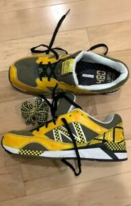 Details about New Balance Mens size 10.5 480 Yellow NYC TAXI Classic Trainers Shoes MRE480TX