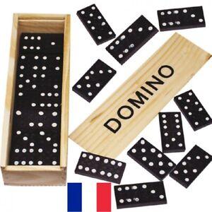 Boite-de-Jeu-de-Domino-en-Bois-16-x-5-cm-Set-Dominos-28-pieces