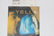 """YELLO - Bostich / Base For Alec- 7"""" 45 mit Product Facts Promo-Flyer"""