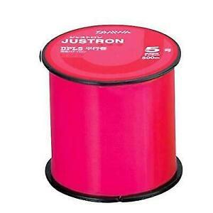 Daiwa Nylon LINE JUSTRON DPLS 500m #2.5 Pink Fishing LINE From JAPAN