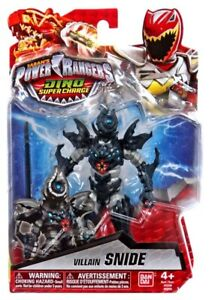 Power Rangers Dino Super Charge Villain Snide Action Figure 45557432430