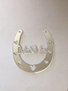 Horse Shoe Acrylic Mirror