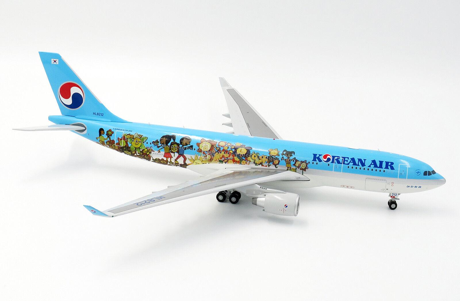 LH2085 1 200 KOREAN AIR AIRBUS A330-200 HL8212 Enfants Dessin concours avec support
