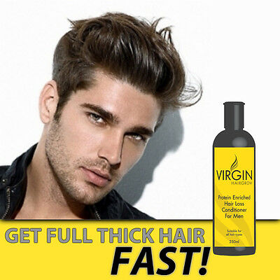 VIRGIN FOR MEN HAIR LOSS CONDITIONER SUPER STRENGTH INTENSE HAIR RE-GROWTH!