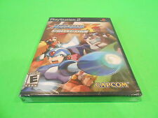 Mega Man X Collection Sony Playstation 2 PS2 Video Game New Sealed