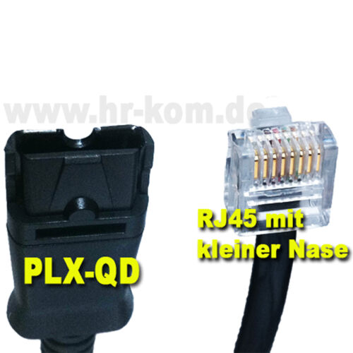 Plantronics U10P-S19 Anschlusskabel  38340-01 Headset AGFEO Siemens Openstage