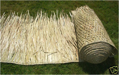 """30/"""" Round Mexican Palm Thatch Hipcap Cover Tiki Hut"""