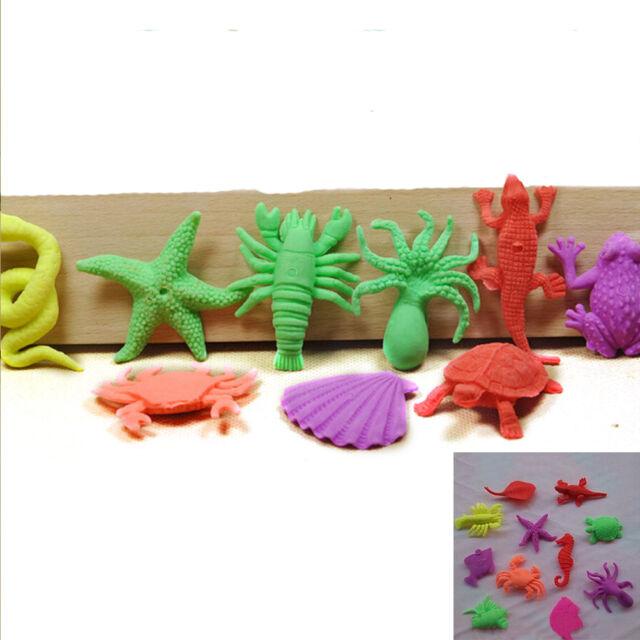 10 Pcs/Set Magic Growing In Water Sea Creature Animals Bulk Swell Toys Kid Gift