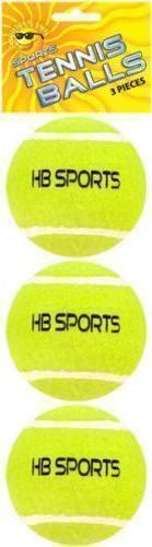 NEW Tennis Balls Good Quality Sports Outdoor Fun Cricket Beach Dog Play Sealed