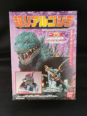 Godzilla Vs Megagirus Real Action Godzilla 2000 Bandai Figure New