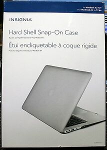 pretty nice eb183 61c8b Details about INSIGNIA HARD SHELL SNAP-ON CASE FOR MACBOOK AIR 13-INCH -  NS-MMA13SG-C