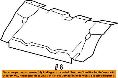 Genuine Ford 5L3Z-8327-A Deflector