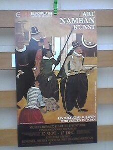 ART-NAMBAN-rare-poster-1989