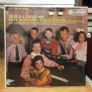 Jesus Loves Me Roy Rogers Dale Evans Lp Rca 1960 Vg Hit