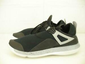 770253b646dcbf Mens 11.5 Nike Air Jordan Fly 89 Black Wolf Grey Cement Shoes ...