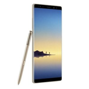 Samsung Galaxy Note8 (Note 8) N950FD Dual 64GB Maple Gold Ship from EU meilleu