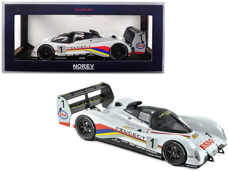 1 18 Norev Peugeot 905 Winners 24 Hrs of Le Mans France 1992 Model 184770