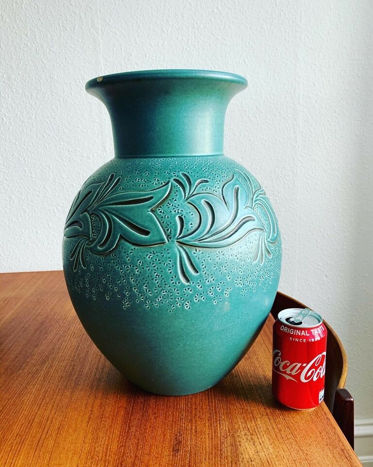 Keramik, Gulvvase, Knabstrup