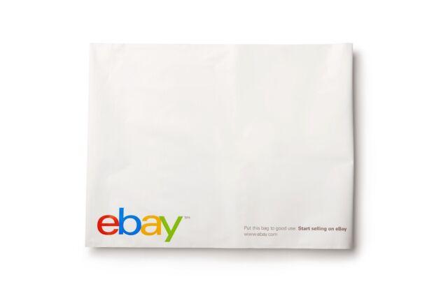 """Classic - eBay Branded Polyjacket, Polymailer Envelopes 12"""" x 15"""" (No padding)"""