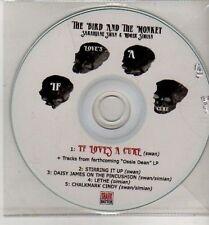 (CJ82) The Bird & The Monkey, If Love's A Cure - DJ CD