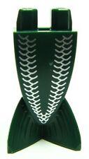 LEGO - Minifig Tail, Merman / Mermaid w/ White Scales Pattern - Dk Green