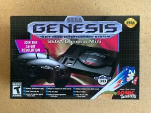NEW-SEGA-Genesis-Mini-Console-by-Sega-40-games-2-bonus-titles-2-Controllers